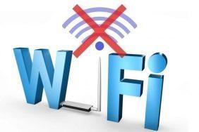 Chyba u Wi-Fi připojení