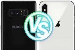 Foto test Samsung Galaxy Note8 vs. Apple iPhone X