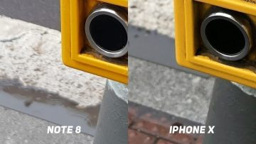 Foto test Samsung Galaxy Note8 vs. Apple iPhone X-tlacitko-3