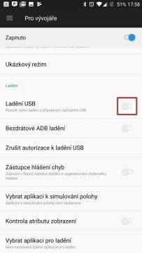Ladění USB