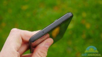 Telefon Google Pixel 2-konstrukce-horni cast