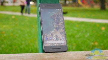 Telefon Google Pixel 2-konstrukce-predni strana-3