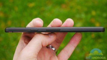 Telefon Google Pixel 2-konstrukce-tlacitka