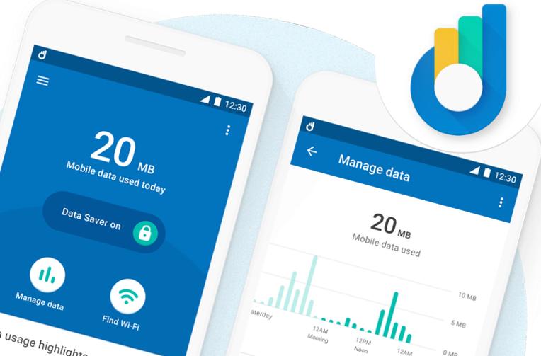 google datally data setreni