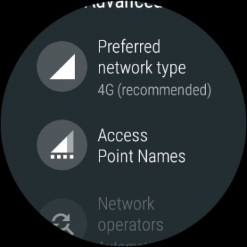 Android Wear lte