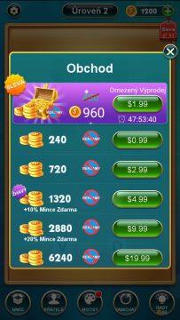 Nákup mincí