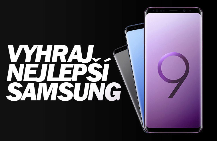 Samsung Galaxy S9+ soutěž