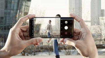 Fotoaparat Galaxy S9