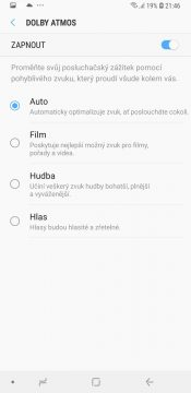 Samsung Galaxy S9 zvuk (2)
