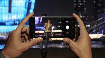 Samsung S9 fotoaparat