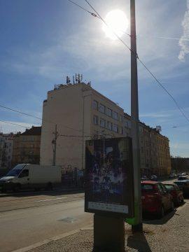Samsung Galaxy S9 foto ulice