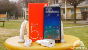 Xiaomi Redmi 5 Plus-recenze-obsah baleni