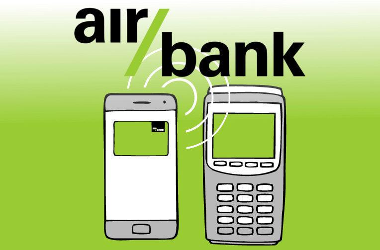 air bank platby telefonem nfc platby