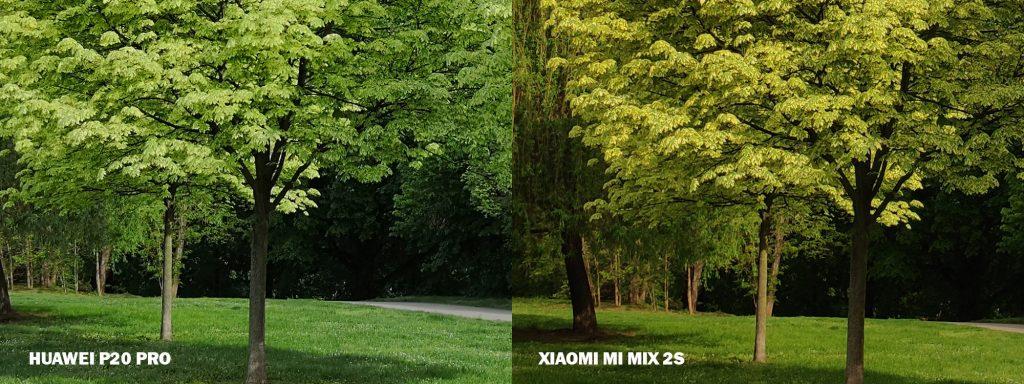 fototest huawei p20 pro vs Xiaomi mi MIx 2S