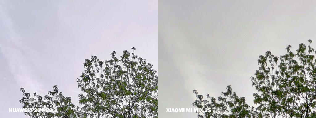 fototest xiaomi mi mix 2s obloha