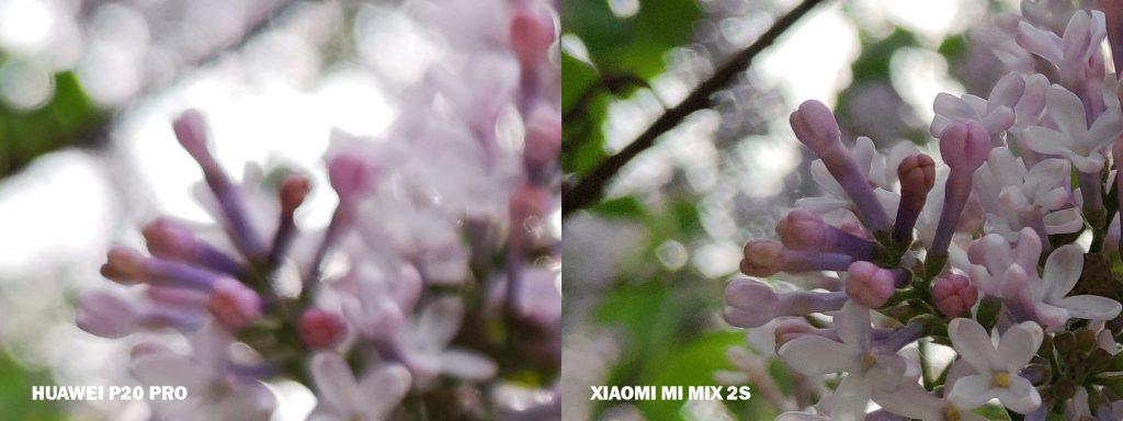 xiaomi mi mix 2s vs huawei P20 pro