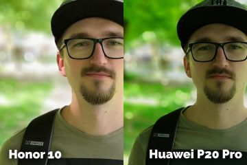 fototest Honor 10 vs Huawei P20 Pro portret detail