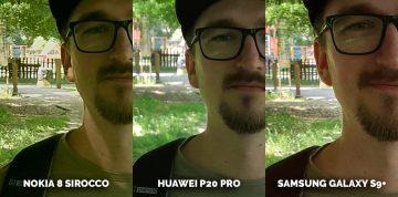 Jak fotí Huawei P20 Pro? detail obličej