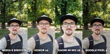 který mobil má nejlepší fotoaparát? Pixel 2, Honor 10, Mi Mix 2S, Nokia 8 Sirocco portret