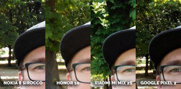 Který fotomobil je nejlepší? fototest Honor 10, Pixel 2, Xiaomi Mi Mix 2S, Nokia 8 Sirocco