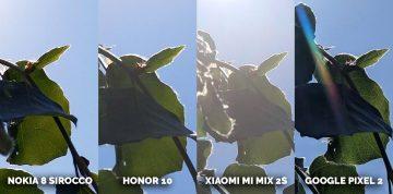 fototest Honor 10, Pixel 2, Xiaomi Mi Mix 2S, Nokia 8 Sirocco listy