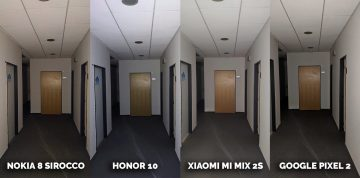 žebříček fotomobilů dxomark fototest Honor 10, Pixel 2, Xiaomi Mi Mix 2S, Nokia 8 Sirocco kancelář