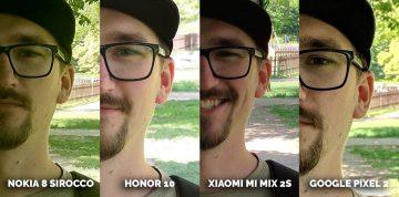 mobil s kvalitním fotoaparátem Honor 10 vs Pixel 2 vs Xiaomi Mi Mix 2S vs Nokia 8 Sirocco