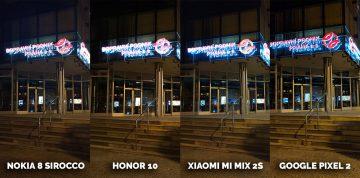Jak fotí Honor 10? noční snímek