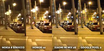Jak fotí Xiaomi Mi Mix 2S? noční ulice