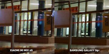 Srovnání fotoaparátů fototest Samsung Xiaomi
