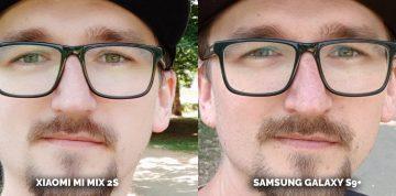 Jak fotí Samsung Galaxy S9+? oblicej