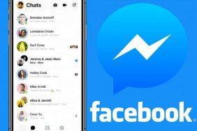 aplikace facebook messenger redesign