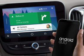 bezdratove Android Auto navigace