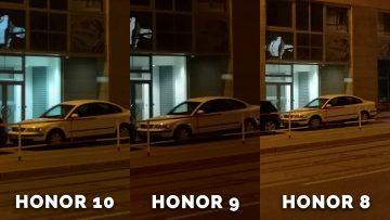 fofotest honor 8 vs honor 9 vs honor 10 - auto noc