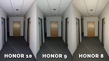 honor 8 vs honor 9 vs honor 10 - chodba