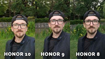 honor 9 fotí skvěle - selfie