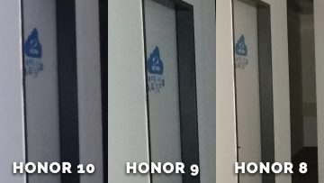 Detail dveri - test Honor 8, Honor 9, Honor 10