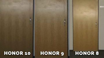 Jak fotí Honor 8, Honor 9, Honor 10? - dvere