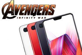 mobil oneplus 6 avengers