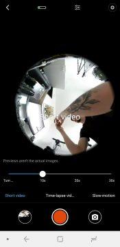 nataceni videa xiaomi mi sphere camera aplikace