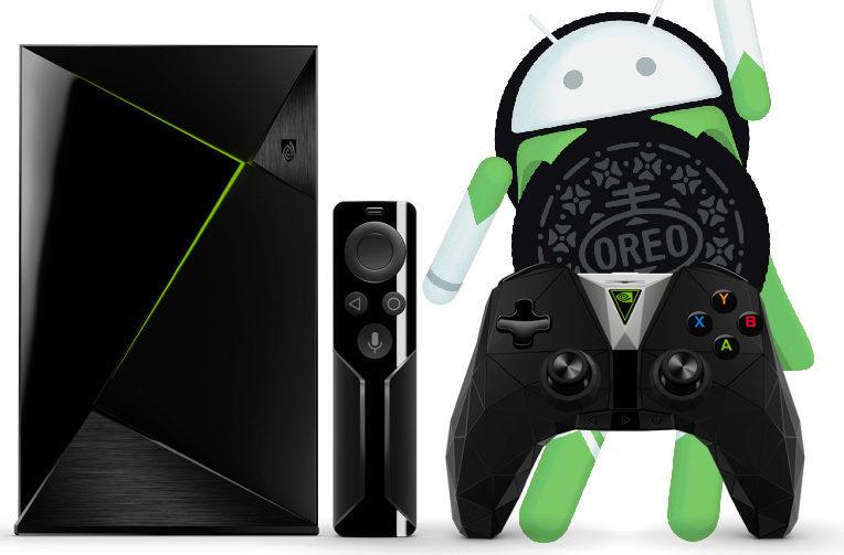 nvidia shield tv android 8 oreo aktualizace
