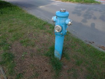 Asus ZenFone fotografie hydrant