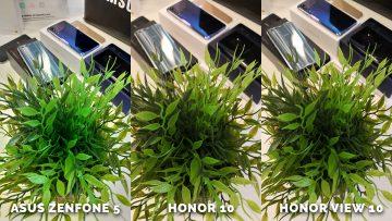 Umělé osvětlení test - Asus Zenfone 5 vs. Honor 10 vs. Honor View 10