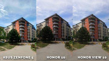 Ulice foceni - Asus Zenfone 5 vs. Honor 10 vs. Honor View 10