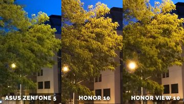 fototest Asus Zenfone 5 vs. Honor 10 vs. Honor View 10 - stromy