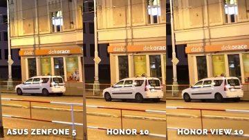 Asus Zenfone 5 vs. Honor 10 vs. Honor View 10 foto test - auto