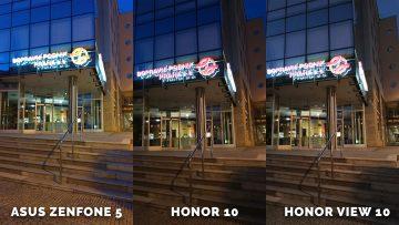 Asus Zenfone 5 vs. Honor 10 vs. Honor View 10 test - dpp
