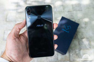 Asus Zenfone 5 zadni strana
