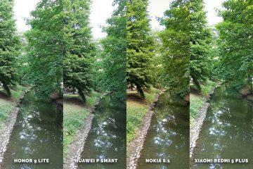 Fototest levných telefonů Honor 9 Lite vs Huawei P Smart vs Nokia 6.1 vs Xiaomi Redmi 5 Plus - potok