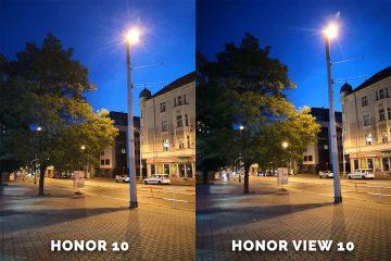 Honor 10 vs. Honor View 10 fotomobil testovani ulice noc